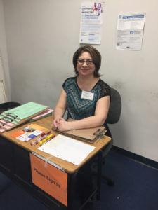 Angelica at the Kern VITA Partnership Program