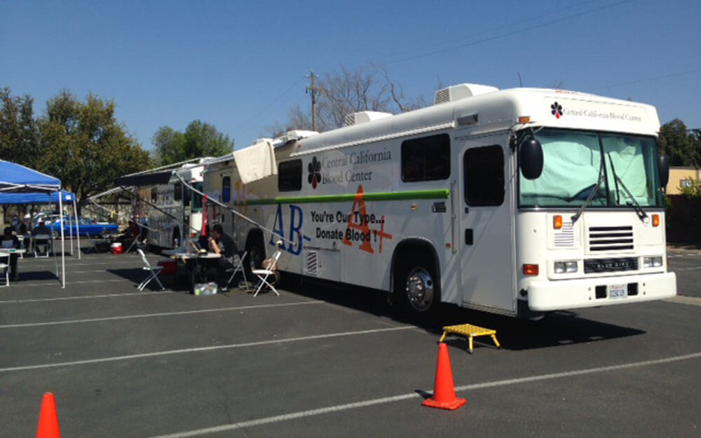 The CVI Blood Drive